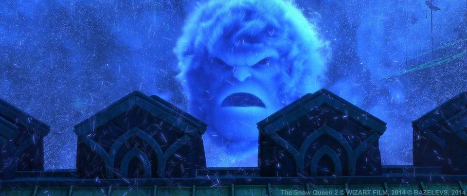 Orm en el reino de las nieves, fotograma 9 de 10