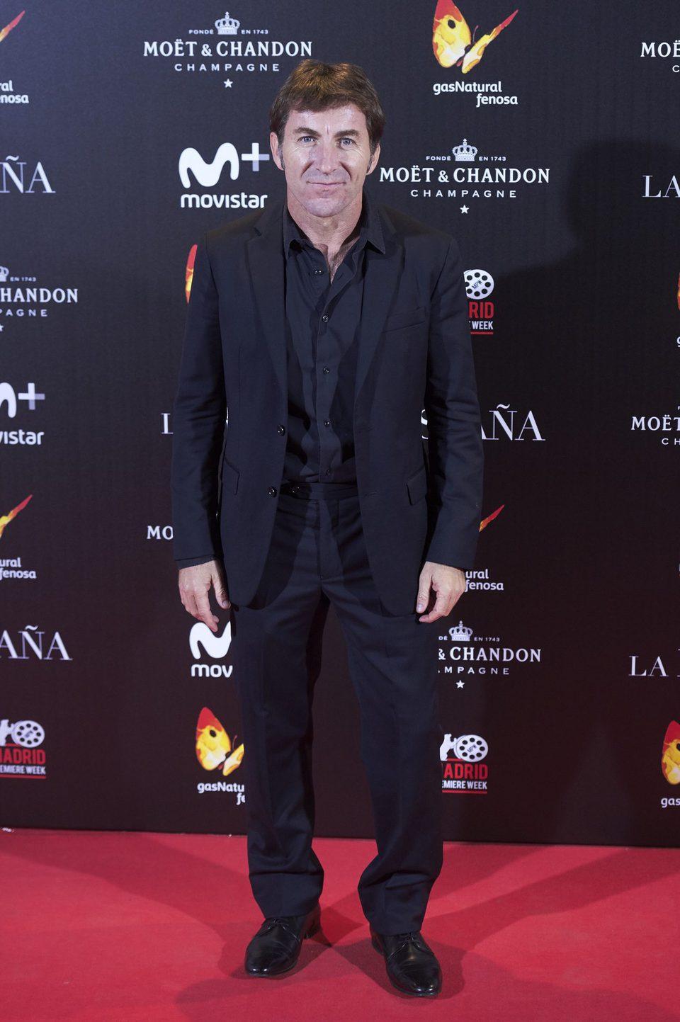 Antonio de la Torre en la presentación de 'La reina de España' en Callao