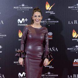 Lorena Castell durante la presentación de 'La reina de España'