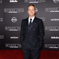 Alan Tudyk,  K-2SO en 'Rogue One', durante la premiere de la película