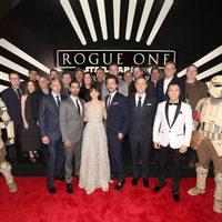 El reparto al completo de 'Rogue One'