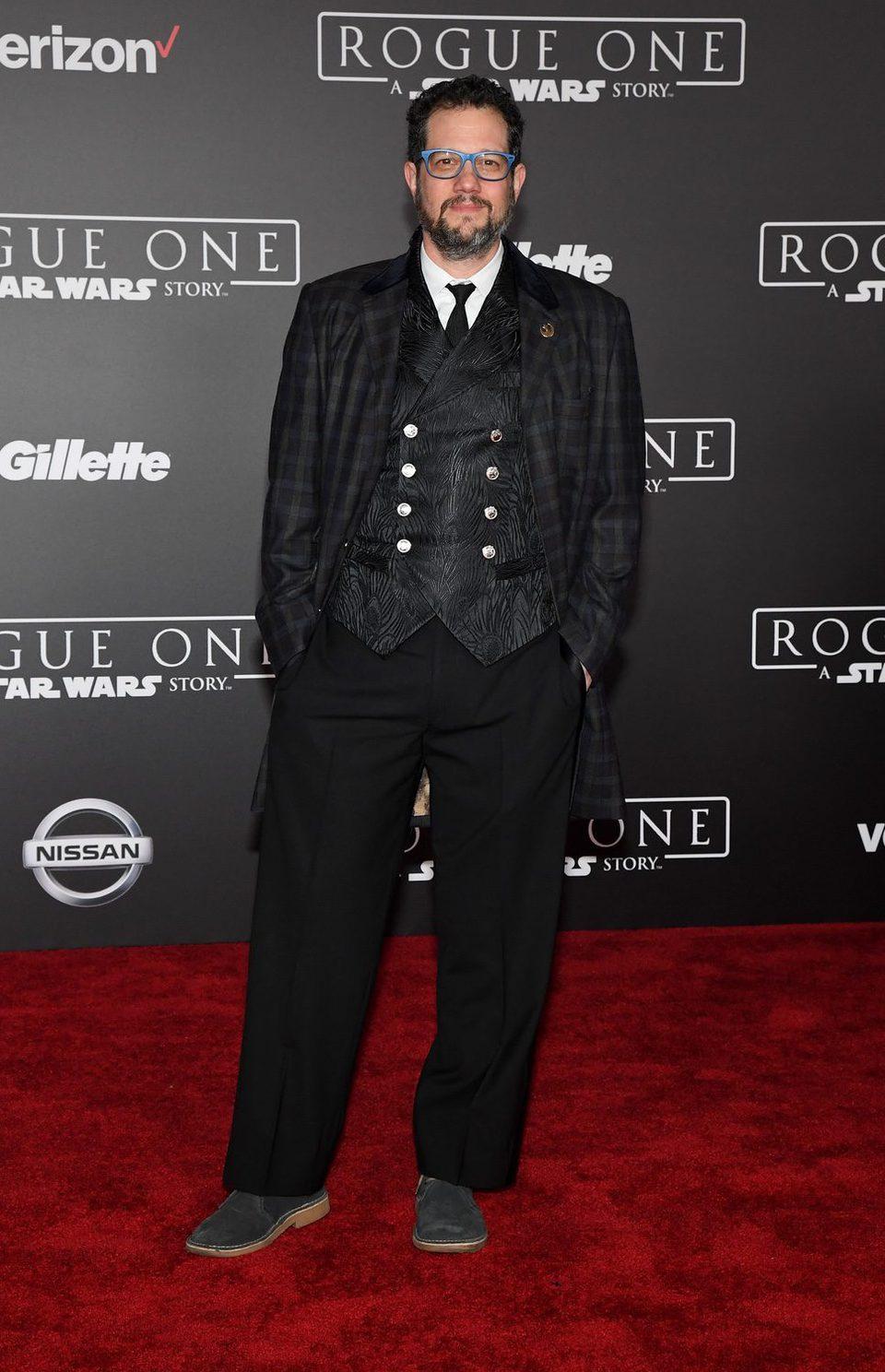 Michael Giacchino, el compositor musical de la cinta, en la premiere