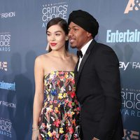 Hailee Steinfel with a rapper Nick Cannon
