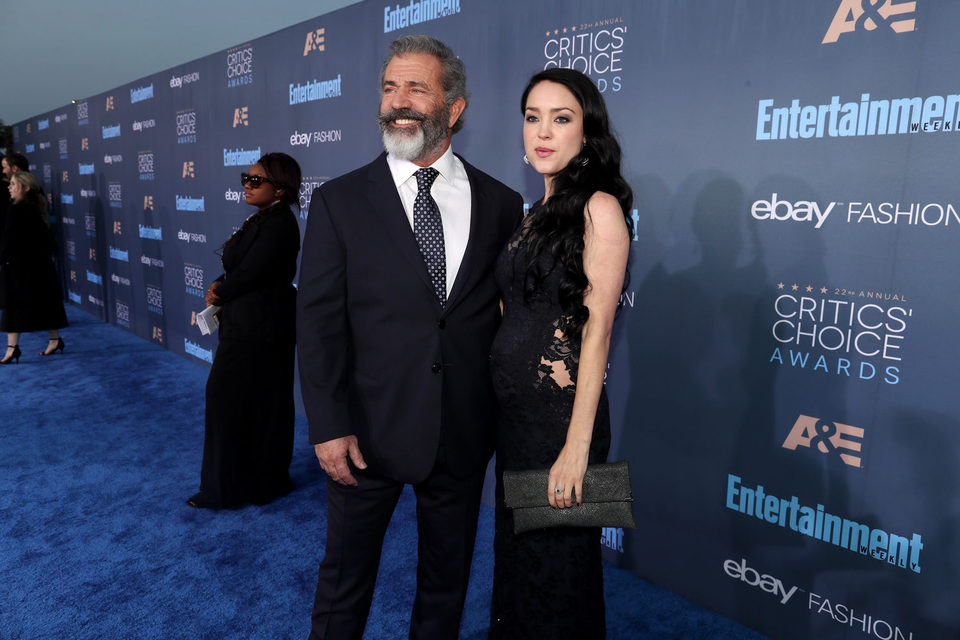 La pareja Mel Gibson y Rosalind Ross