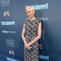 La actriz Michelle Williams en los Critics Choice Awards