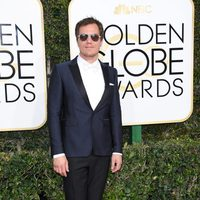 Michael Shannon at the 2017 Golden Globes red carpet