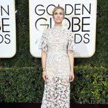 Kristen Wiig en la alfombra roja de los Globos de Oro 2017