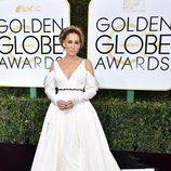 Sarah Jessica Parker en la alfombra roja de los Globos de Oro 2017