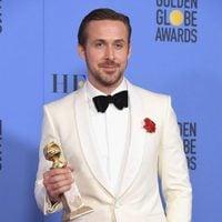 Ryan Gosling tras la ceremonia de los Globos de Oro 2017