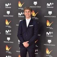 Patrick Criado en la alfombra roja de los Premios Feroz 2017