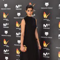 Alba Flores en la alfombra roja de los Premios Feroz 2017