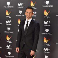 Alejandro Amenábar en la alfombra roja de los Premios Feroz 2017