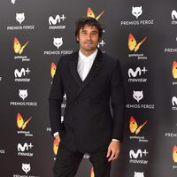 Alex García en la alfombra roja de los Premios Feroz 2017