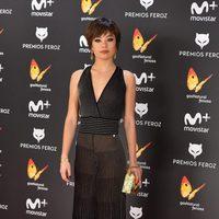 Ana Castillo en la alfombra roja de los Premios Feroz 2017