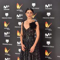 Bárbara Lennie en la alfombra roja de los Premios Feroz 2017