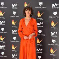 Belén Cuesta en la alfombra roja de los Premios Feroz 2017