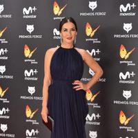Belén López en la alfombra roja de los Premios Feroz 2017