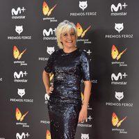 Eva Hache en la alfombra roja de los Premios Feroz 2017