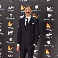 Julián Villagrán en la alfombra roja de los Premios Feroz 2017