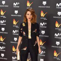 Leticia Dolera en la alfombra roja de los Premios Feroz 2017