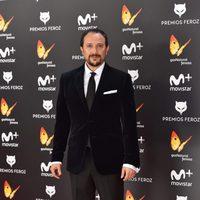 Luis Callejo en la alfombra roja de los Premios Feroz 2017