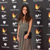 Macarena García en la alfombra roja de los Premios Feroz 2017