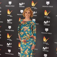 Maggie Civantos en la alfombra roja de los Premios Feroz 2017