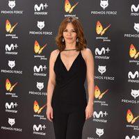 María Adanez en la alfombra roja de los Premios Feroz 2017