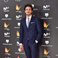 Miki Esparbe en la alfombra roja de los Premios Feroz 2017