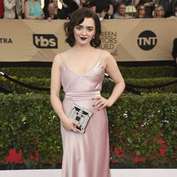 Maisie Williams en la alfombra roja de los SAG Awards 2017