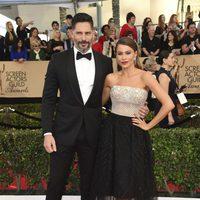 Sofía Vergara y Joe Manganiello en la alfombra roja de los SAG Awards 2017