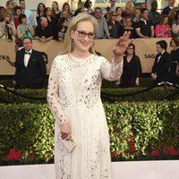 Meryl Streep en la alfombra roja de los SAG Awards 2017
