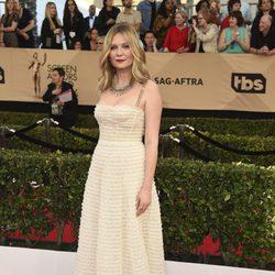 Kirsten Dunst en la alfombra roja de los SAG Awards 2017