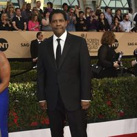 Denzel Washington en la alfombra roja de los SAG Awards 2017