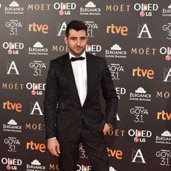 Antonio Velázquez en los Premios Goya 2017