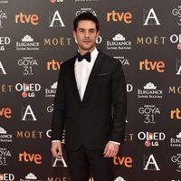 El actor Alejo Sauras en la alfombra roja de los Premios Goya 2017