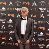El actor Guillermo Montesinos en la alfombra roja de los Premios Goya 2017