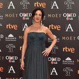 Beatriz Bodegas en la alfombra roja de los Premios Goya 2017
