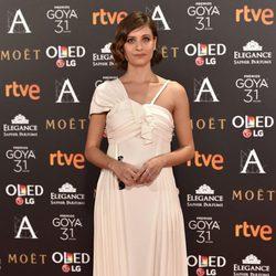 Michelle Jenner en la alfombra roja de los Premios Goya 2017