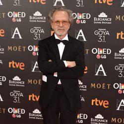 El director Fernando Colomo en la alfombra roja de los premios Goya 2017