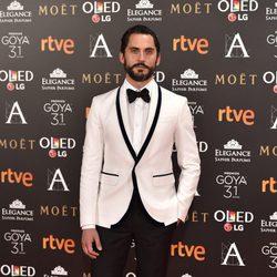 Paco León, el director de 'Kiki, el amor se hace', en la alfombra roja de los premios Goya 2017