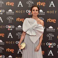 Ana Belén en la alfombra roja de los Premios Goya 2017