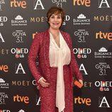 Anabel Alonso en la alfombra roja de los Premios Goya 2017