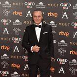 José Coronado, actor de 'Contratiempo', en  la alfombra roja de los Premios Goya 2017