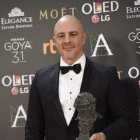 Roberto Álamo ganador del Goya 2017 a Mejor Actor Protagonista por 'Que Dios nos perdone'