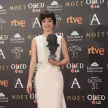 Anna Castillo, ganadora del Goya 2017 a Mejor actriz revelación