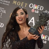 Silvia Pérez Cruz ganadora del Goya 2017 a Mejor Canción Original por 'Cerca de tu casa'
