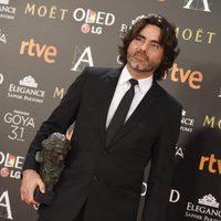 Óscar Faura, ganador del Goya 2017 a Mejor fotografía