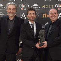 El equipo de 'Psiconautas, los niños olvidados' ganadores del Goya 2017 a Mejor Película de Animación