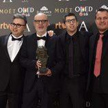 Juanjo Giménez, ganador del premio Goya 2017 a Mejor cortometraje de ficción